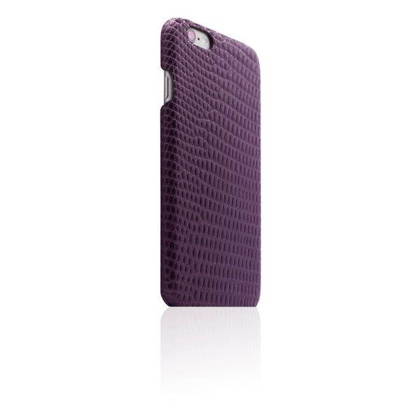 D3 Italian Lizard Leather Back Case for iPhone 6/6s Plus Purple