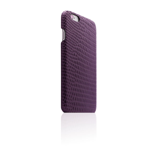 D3 Italian Lizard Leather Back Case for iPhone 6 / 6s Purple