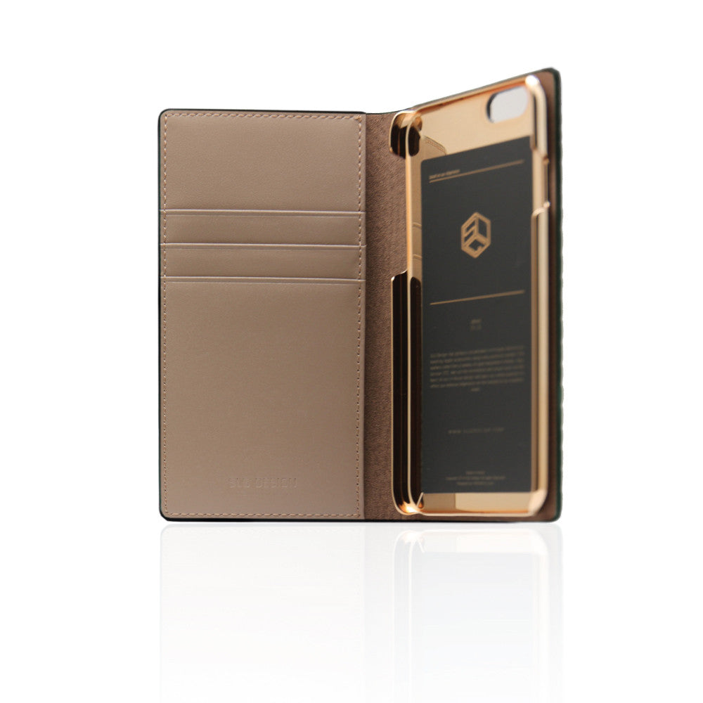 D3 Italian Lizard Leather Case for iPhone 6 / 6s Brown