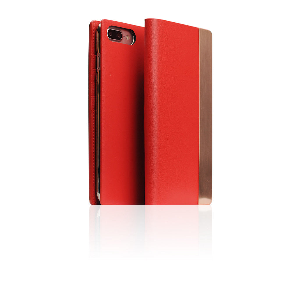 D5 CSL Metal Case for iPhone 8 Plus / 7 Plus Red