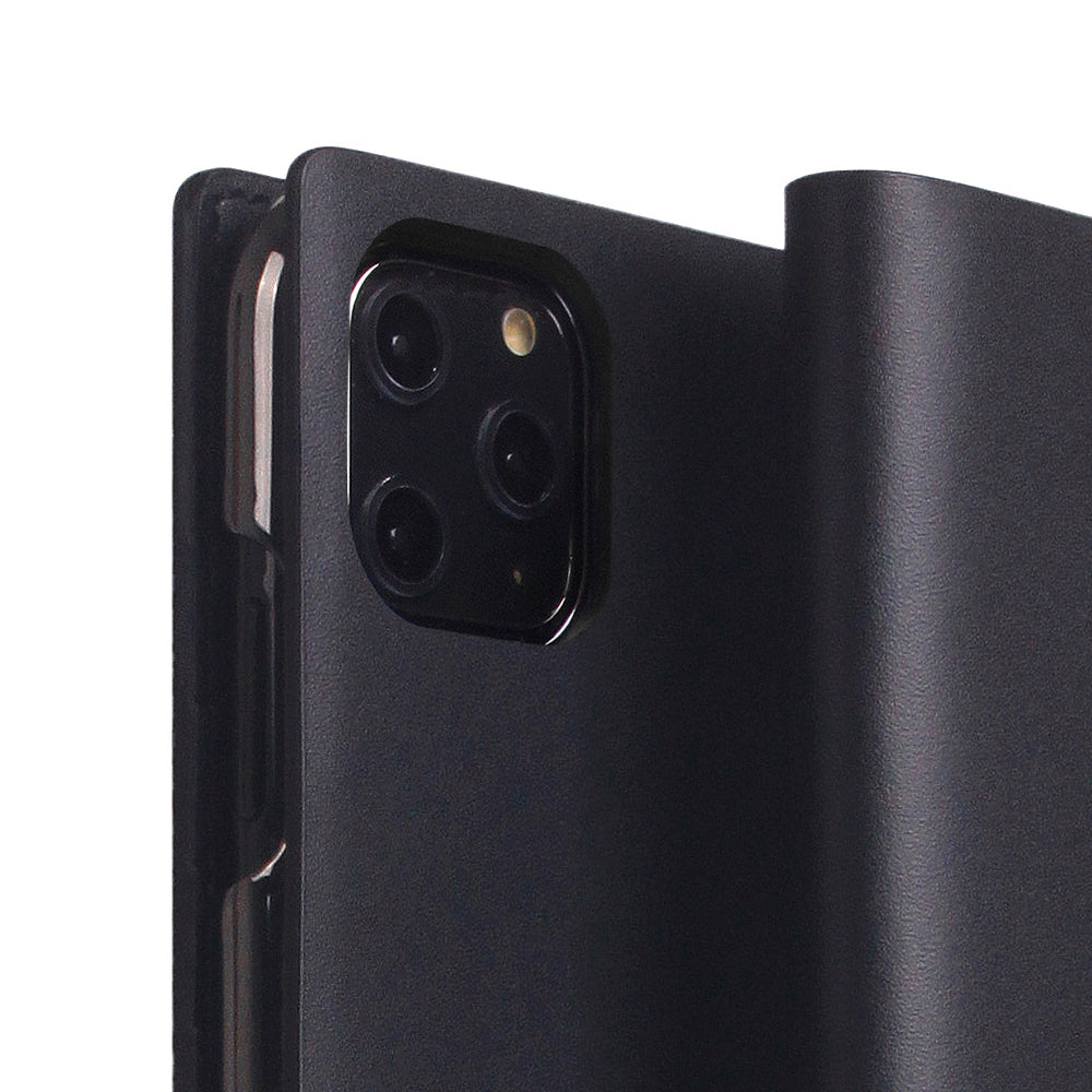 D5 Calf Skin Leather Case for iPhone 11 Pro Max Black
