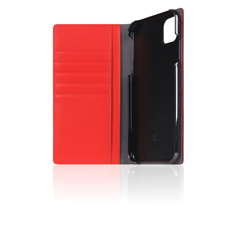 D5 Calf Skin Leather Case for iPhone 11 Pro Max Red