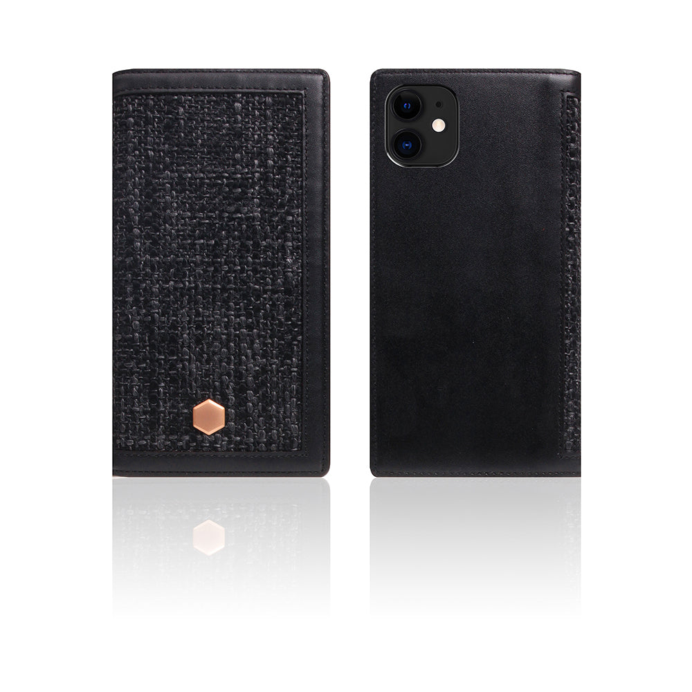 D5 Edition Calf Skin Leather Case for iPhone 11 (Black)