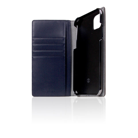 D5 Edition Calf Skin Leather Case for iPhone 11 (Navy)