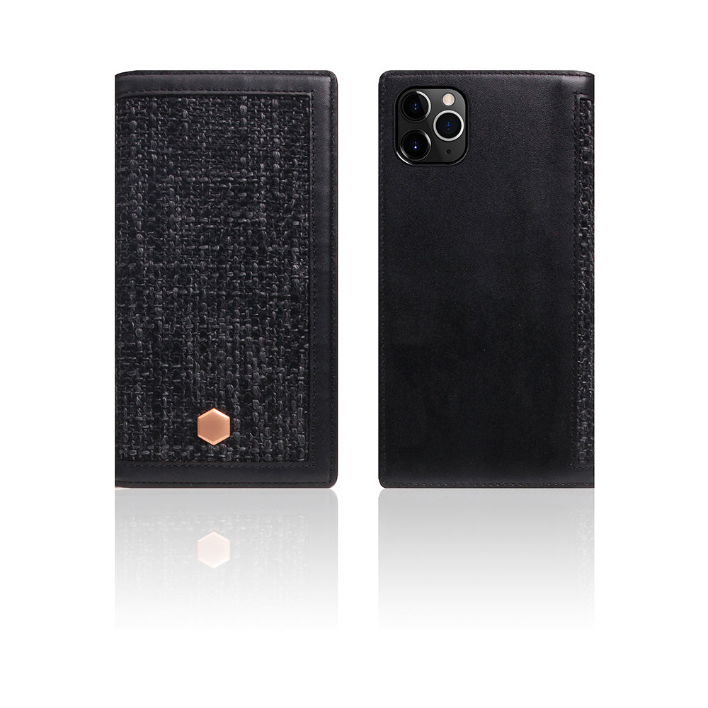 D5 Edition Calf Skin Leather Case for iPhone 11 Pro (Black)