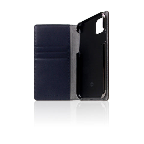 D5 Edition Calf Skin Leather Case for iPhone 11 Pro (Navy)