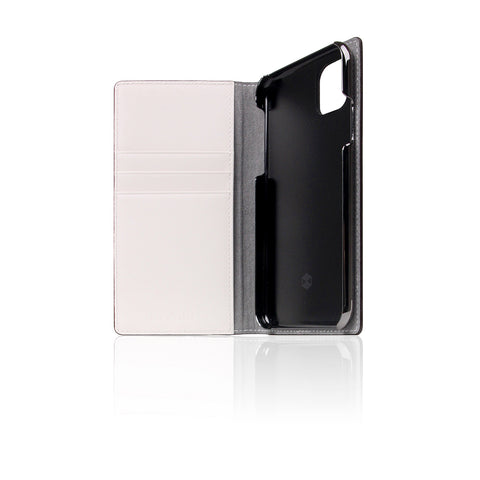D5 Edition Calf Skin Leather Case for iPhone 11 Pro (White)
