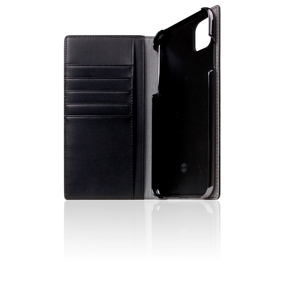 D5 Edition Calf Skin Leather Case for iPhone 11 Pro Max (Black)
