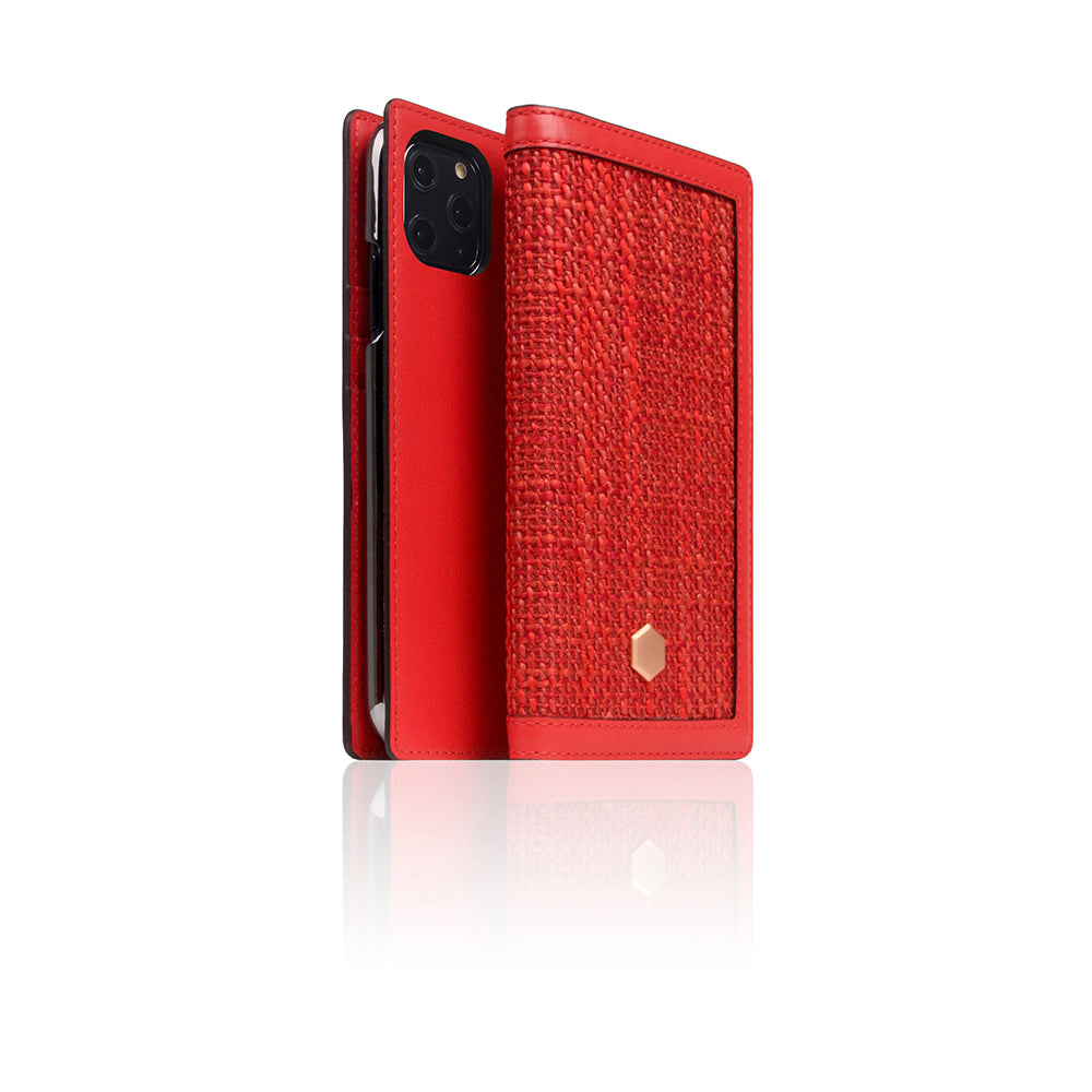 D5 Edition Calf Skin Leather Case for iPhone 11 Pro (Red)