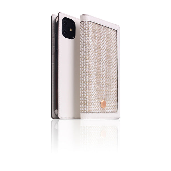 D5 Edition Calf Skin Leather Case for iPhone 11 (White)