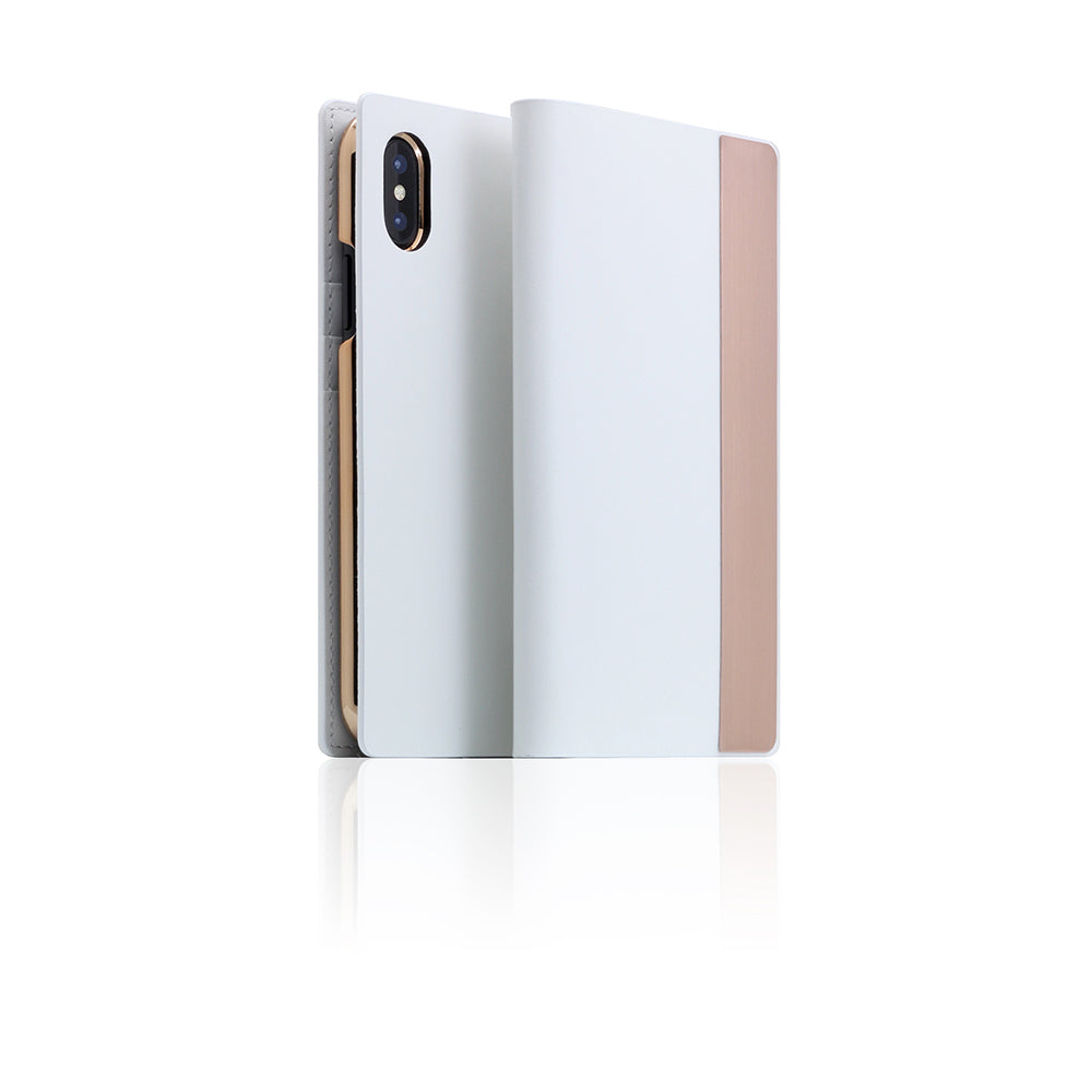 D5 CSL Metal Case for iPhone X / XS White
