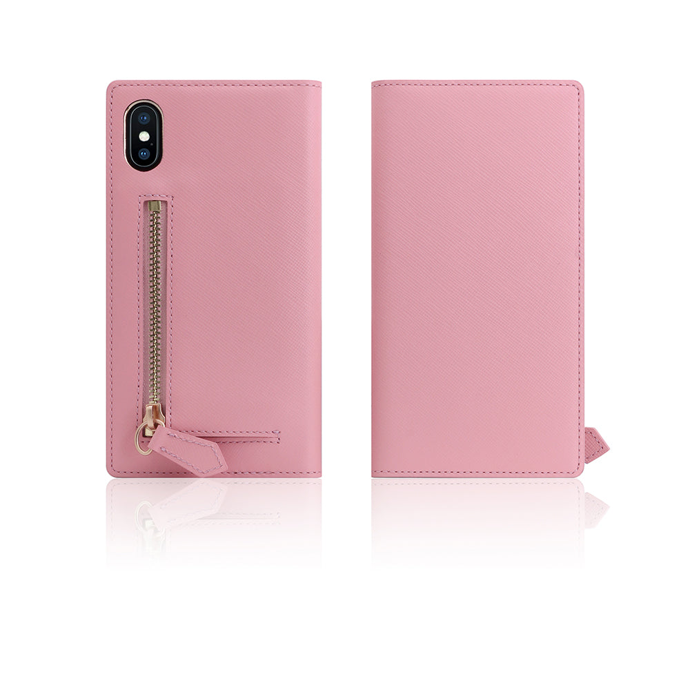 D5 CSL Zipper Case for iPhone X B.Pink