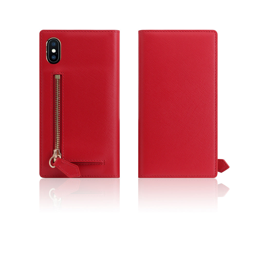 D5 CSL Zipper Case for iPhone X Red