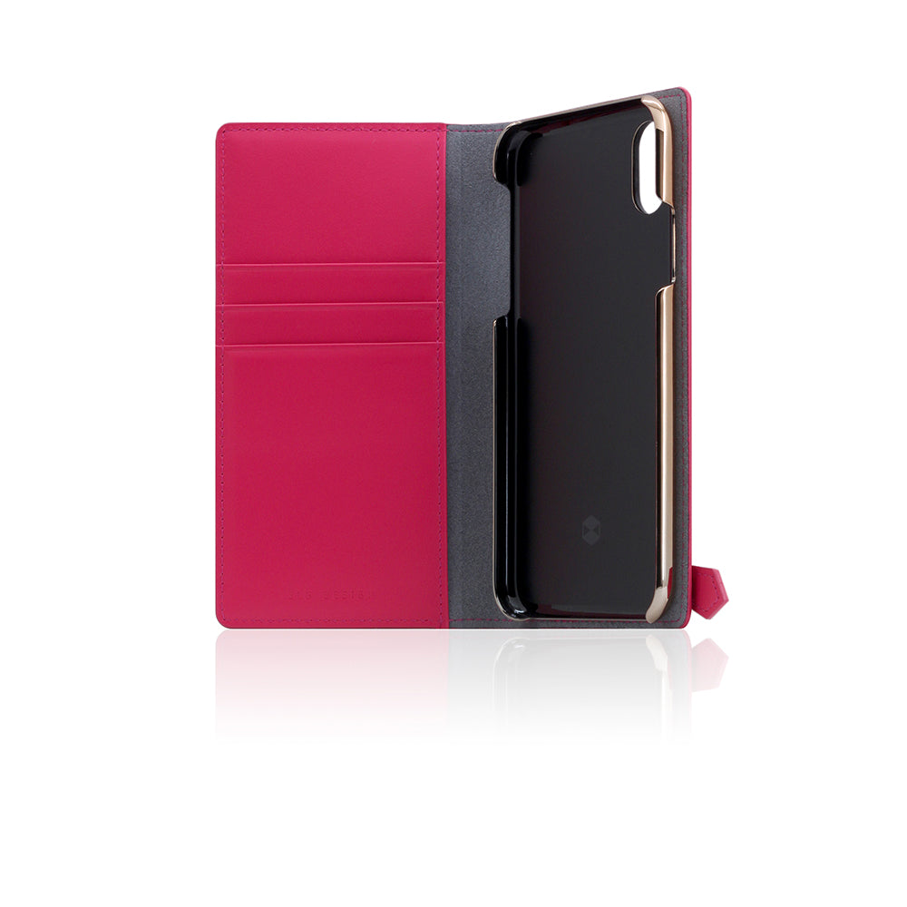 D5 CSL Zipper Case for iPhone X / XS Pink