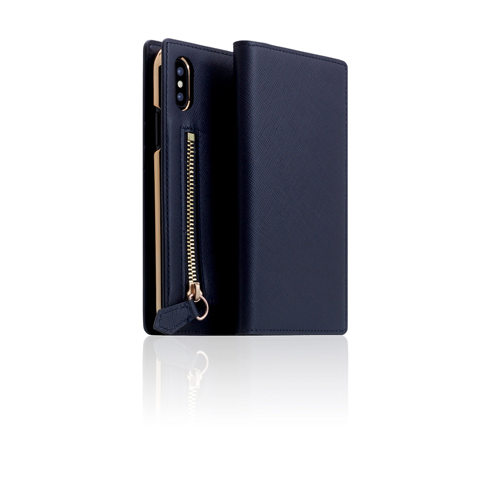 D5 CSL Zipper Case for iPhone X / XS Navy