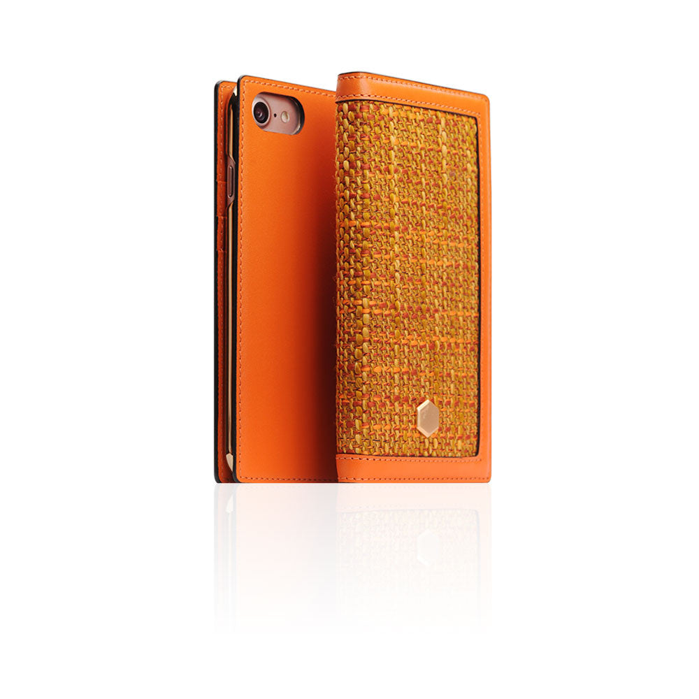 D5 Edition Calf Skin Leather Case for iPhone 8 / 7 (Orange)