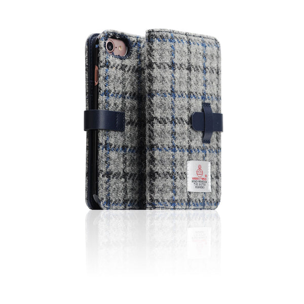 D5 Special Edition X Harris Tweed Case for iPhone 8 / 7 G/Blue