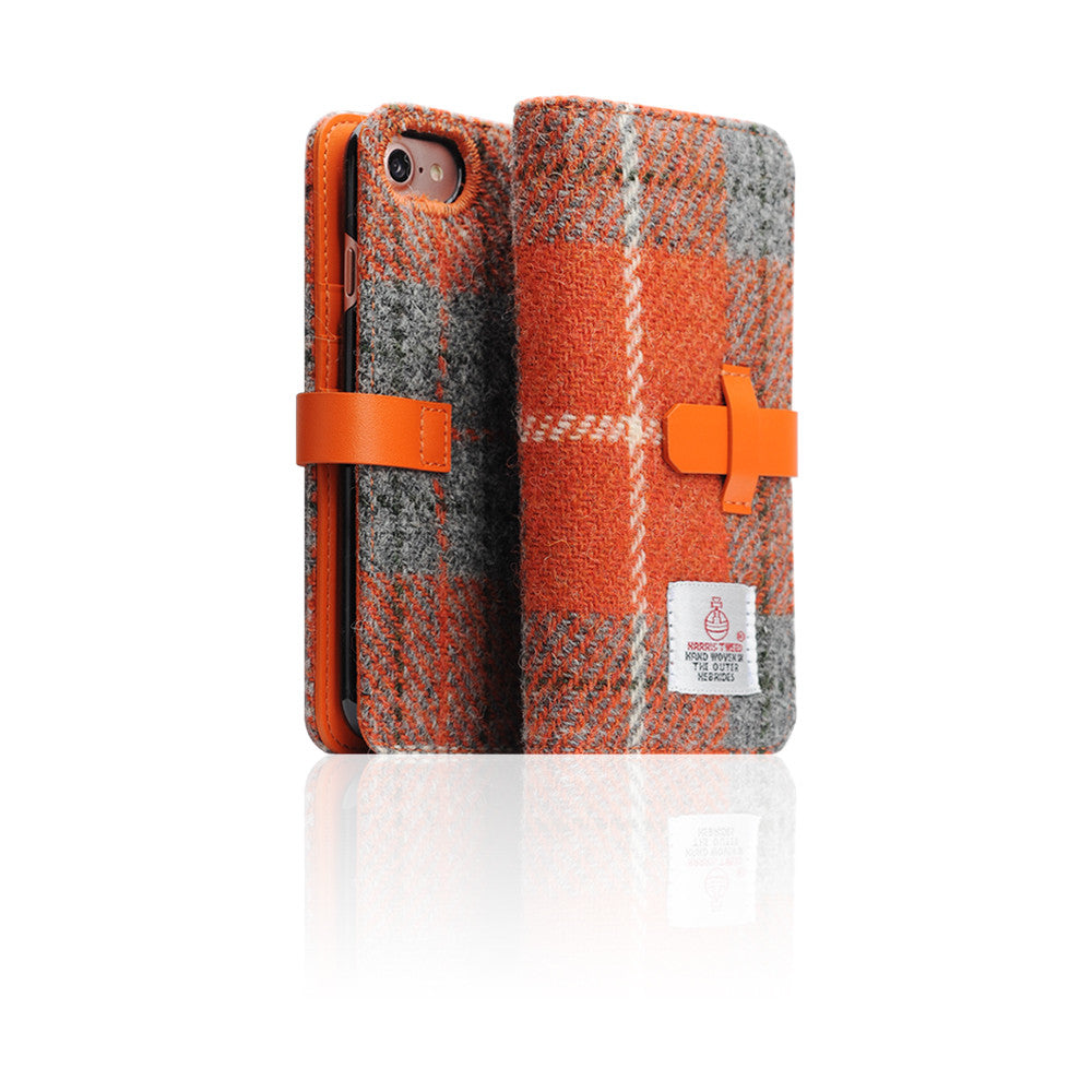 D5 Special Edition X Harris Tweed Case for iPhone 8 / 7 G/Orange