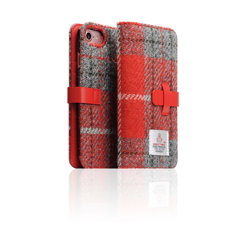 D5 Special Edition X Harris Tweed Case for iPhone 7 G/Red