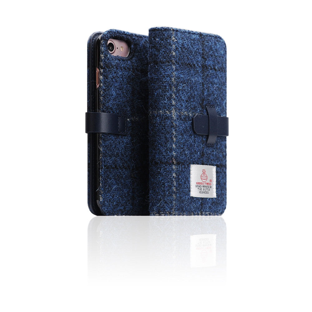 D5 Special Edition X Harris Tweed Case for iPhone 8 / 7 Navy