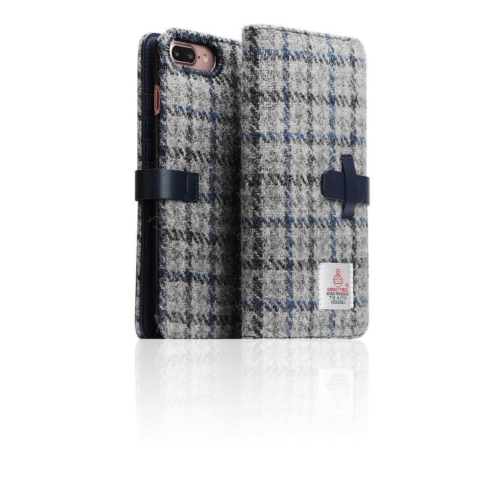 D5 Special Edition X Harris Tweed Case for iPhone 7 Plus G/Blue