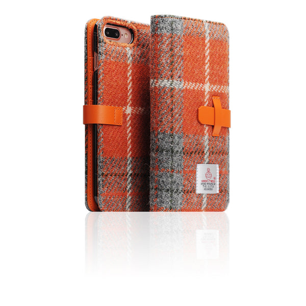 D5 Special Edition X Harris Tweed Case for iPhone 7 Plus G/Orange