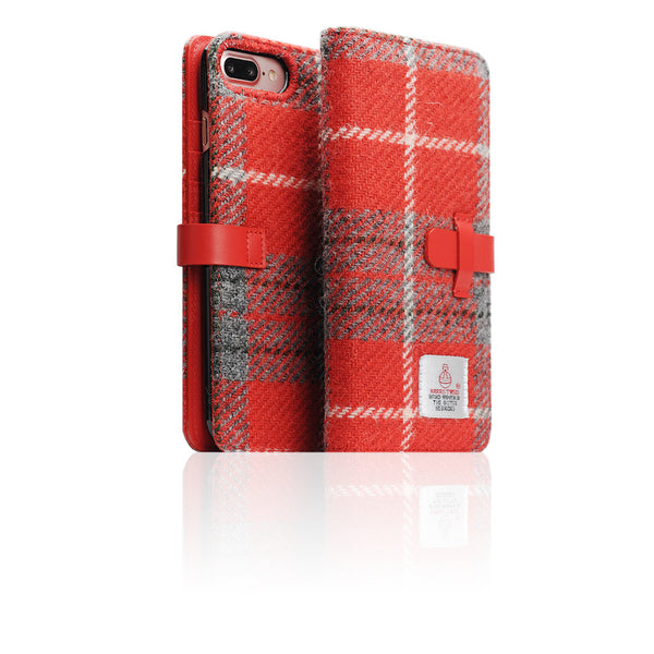 D5 Special Edition X Harris Tweed Case for iPhone 7 Plus G/Red