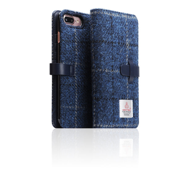 D5 Special Edition X Harris Tweed Case for iPhone 7 Plus Navy