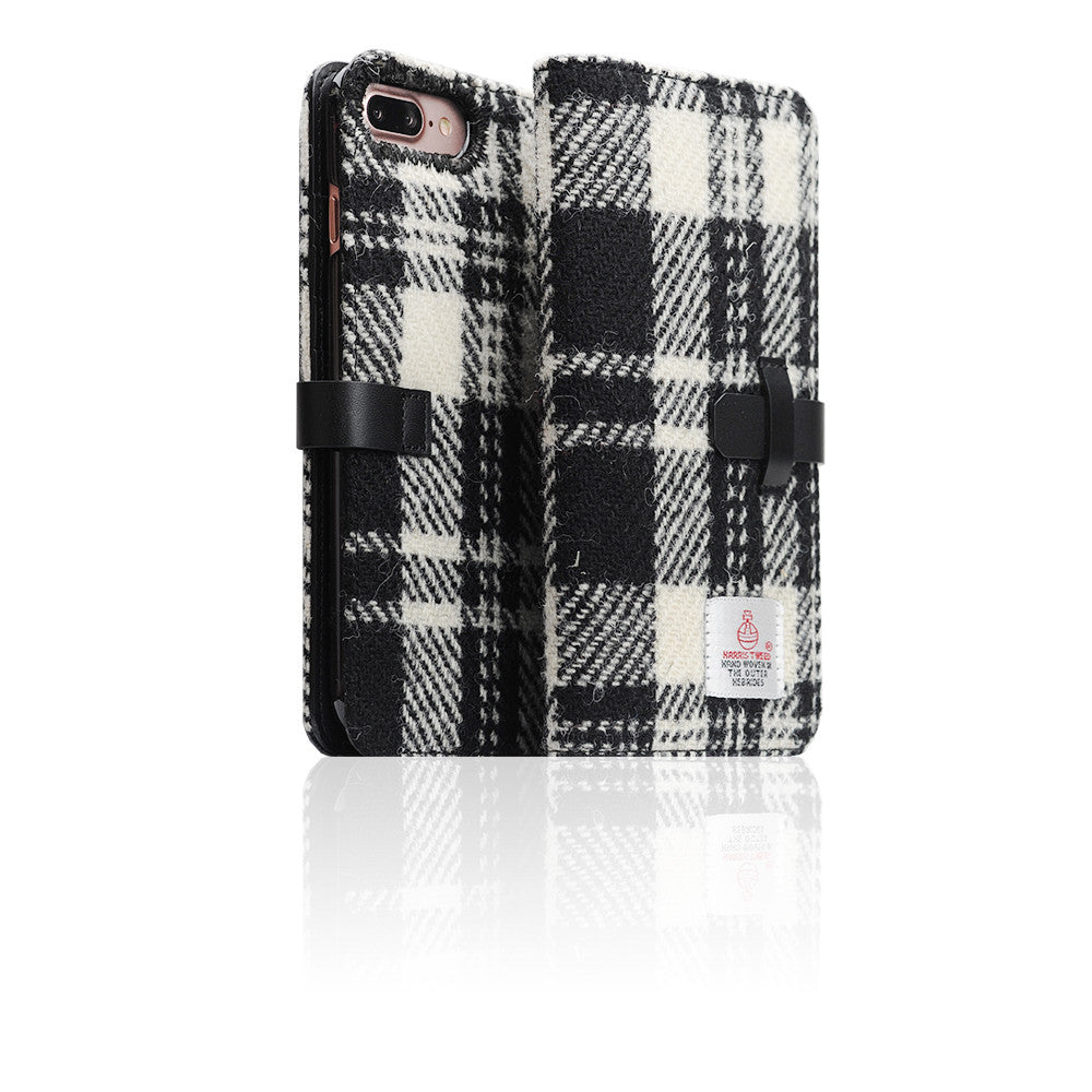 D5 Special Edition X Harris Tweed Case for iPhone 8 Plus / 7 Plus W/Black