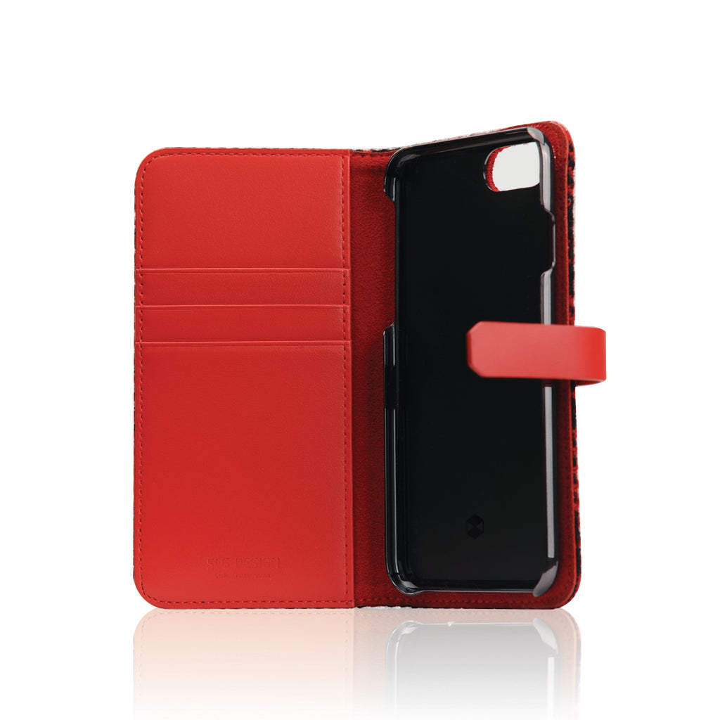 D5 Special Edition X Harris Tweed Case for iPhone 6/6s G/Red