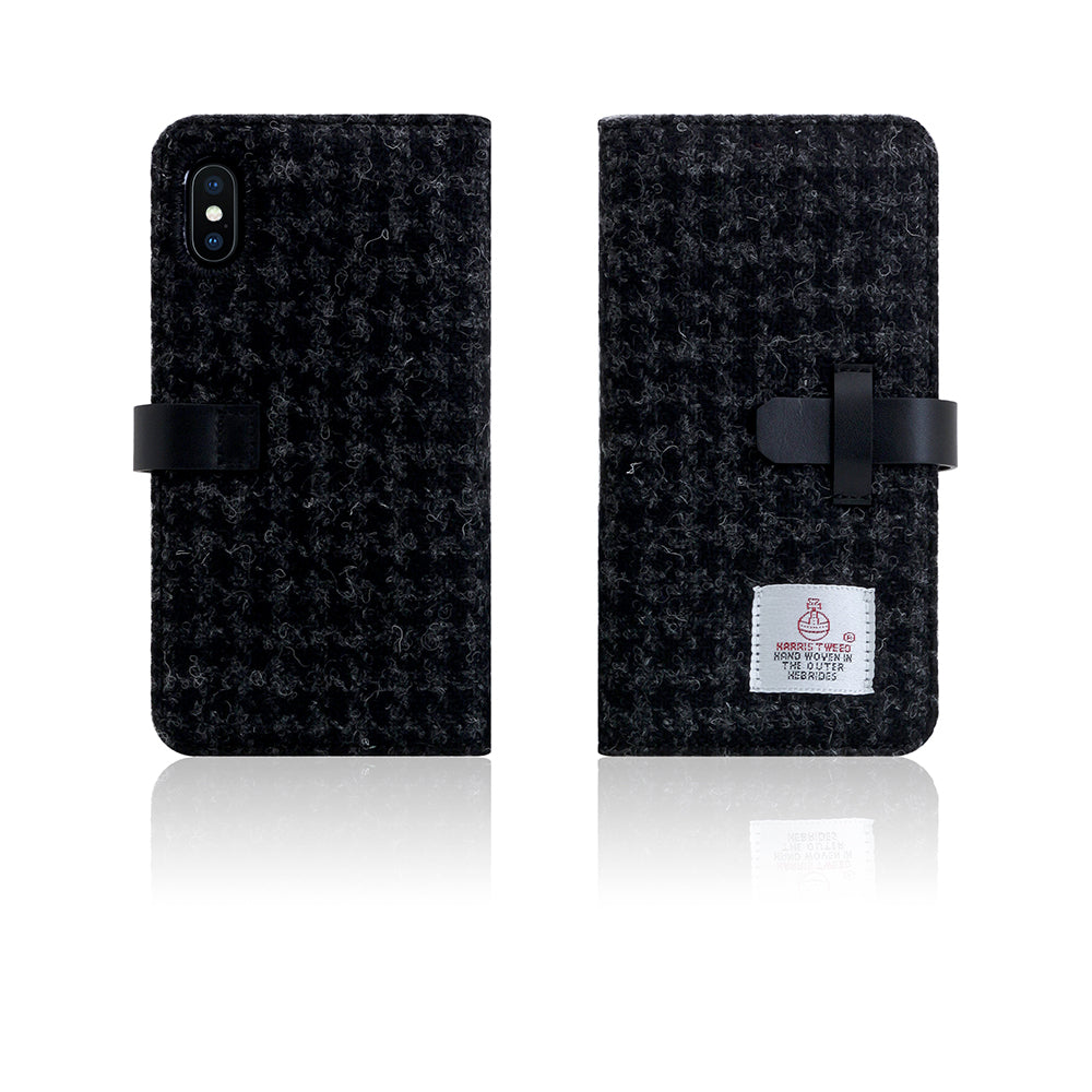 D5 Special Edition X Harris Tweed Case for iPhone X Black
