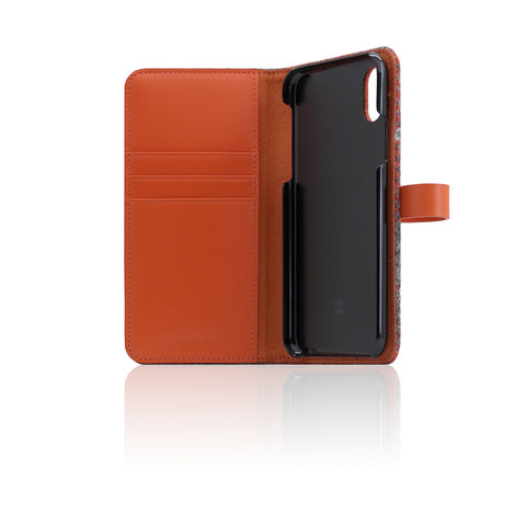 D5 Special Edition X Harris Tweed Case for iPhone X / XS G.Orange