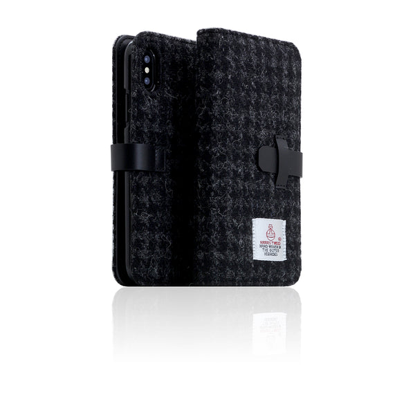 D5 Special Edition X Harris Tweed Case for iPhone X / XS Black