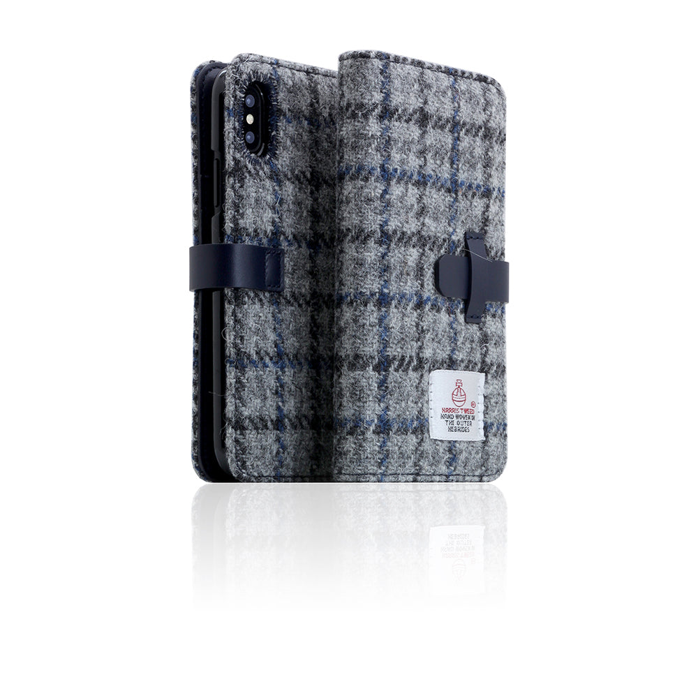 D5 Special Edition X Harris Tweed Case for iPhone X / XS G.Blue