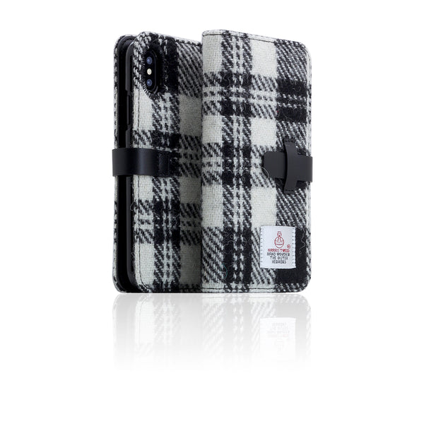 D5 Special Edition X Harris Tweed Case for iPhone X / XS W.Black
