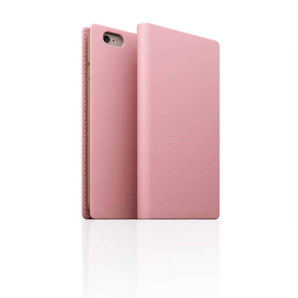 D5 Calf Skin Leather Case for iPhone 6 / 6s Baby Pink