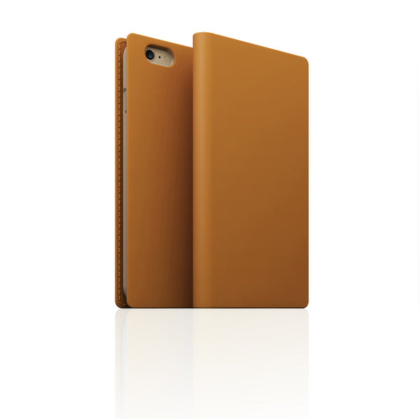 D5 Calf Skin Leather Case for iPhone 6 / 6s Tan