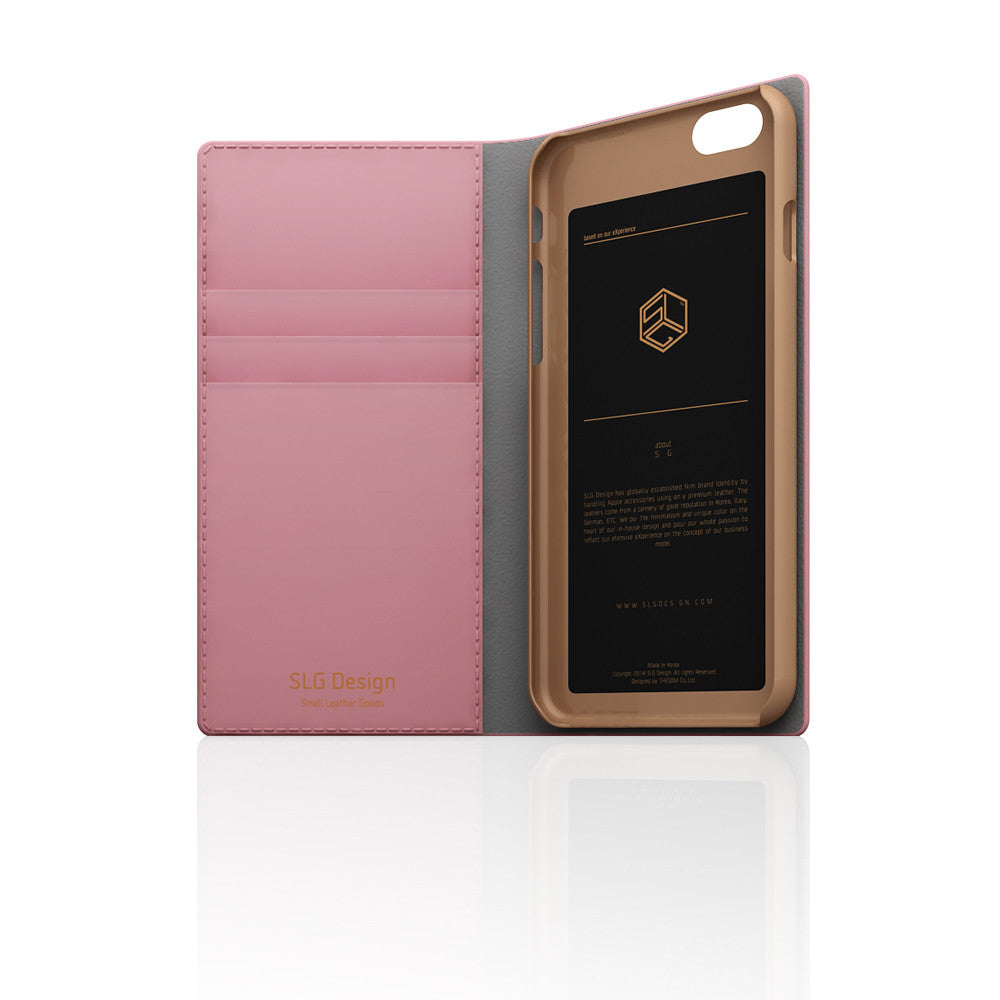 D5 CSL Saffiano Case for iPhone 6/6s Baby Pink