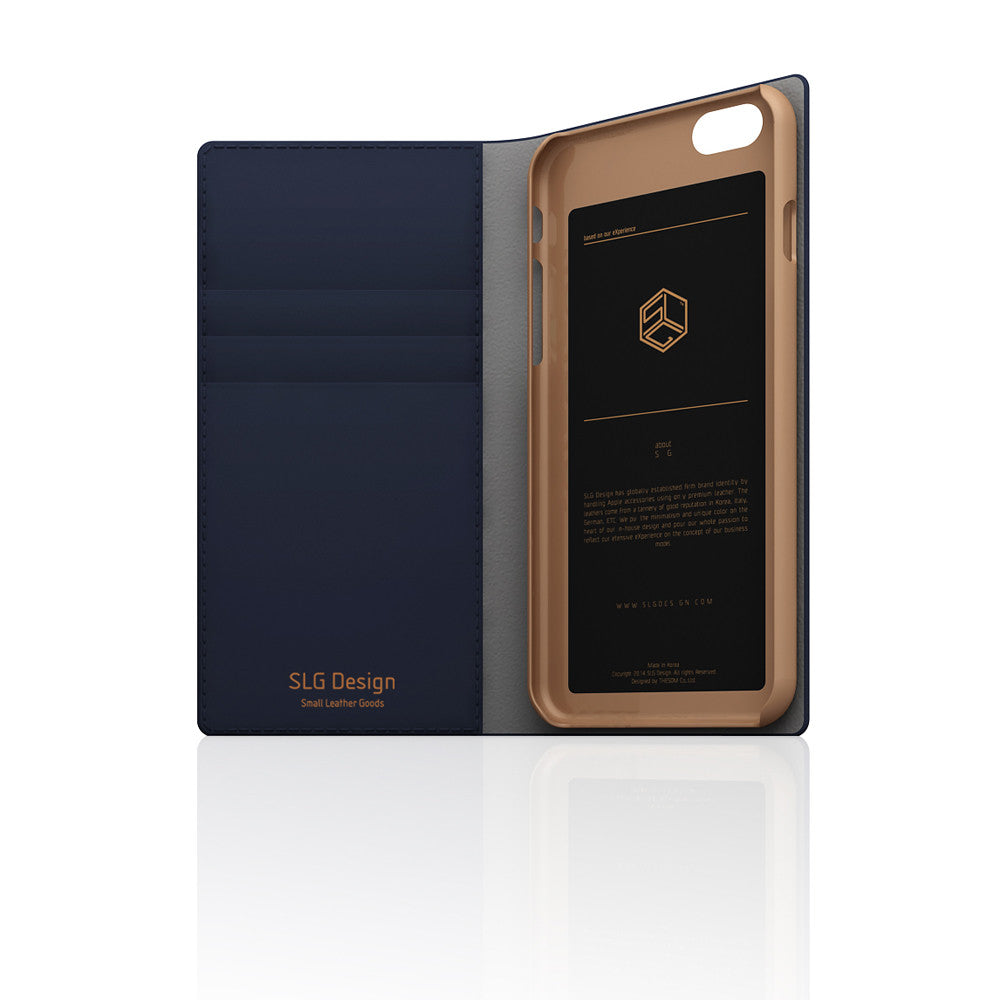 D5 CSL Saffiano Case for iPhone 6/6s Navy
