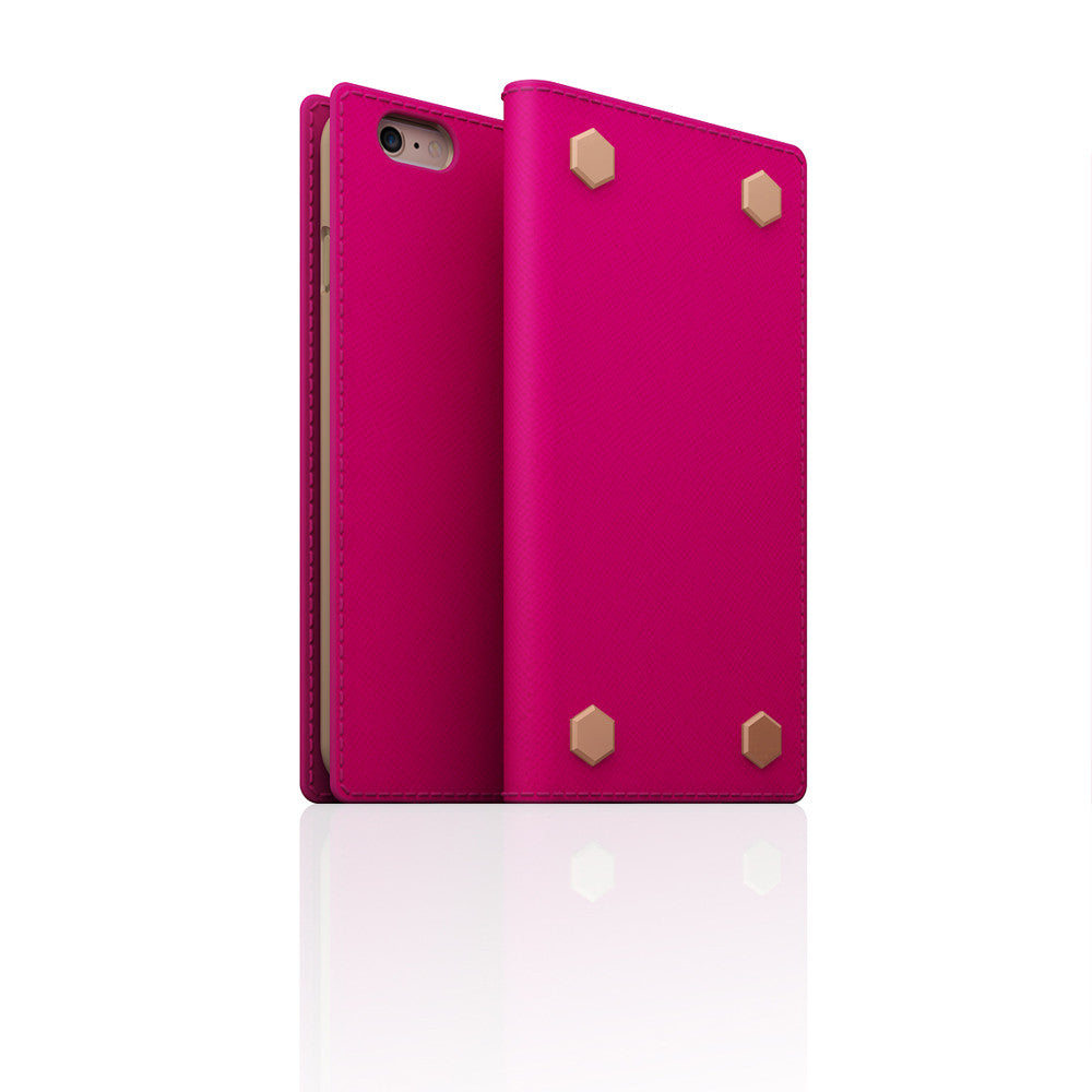 D5 CSL Saffiano Case for iPhone 6/6s Pink