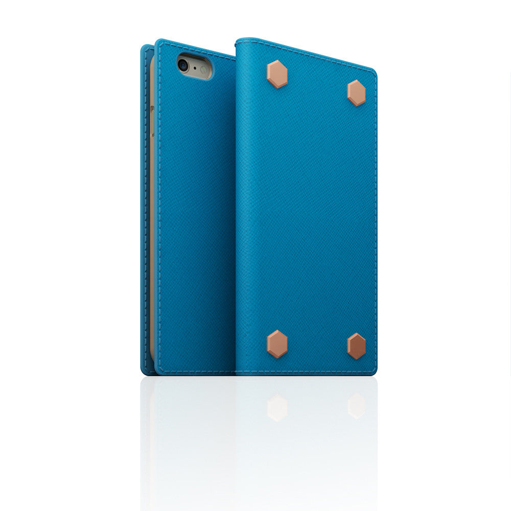 D5 CSL Saffiano Case for iPhone 6/6s Sky Blue