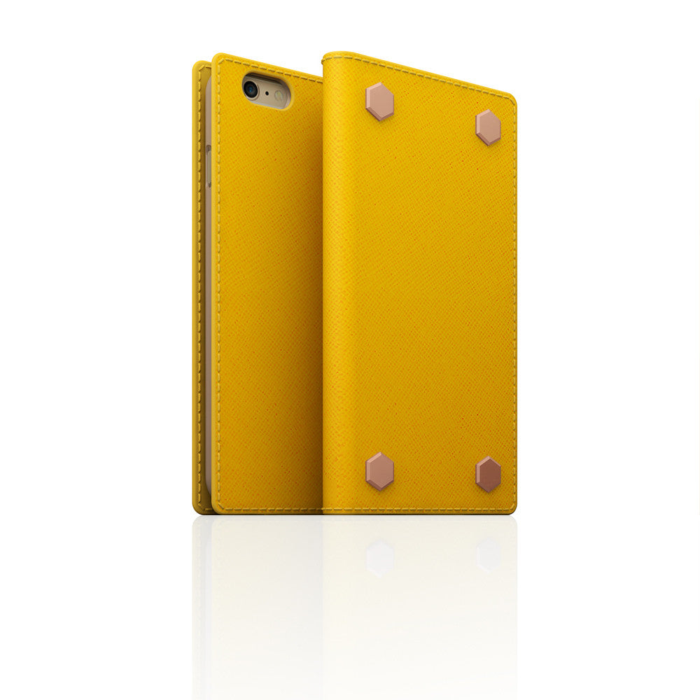 D5 CSL Saffiano Case for iPhone 6/6s Yellow