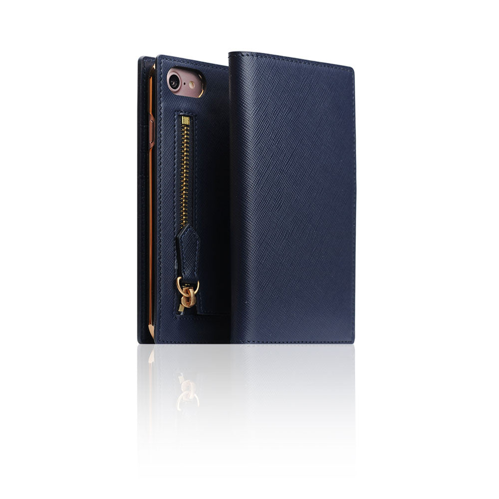 D5 CSL Zipper Case for iPhone 8 / 7 Navy