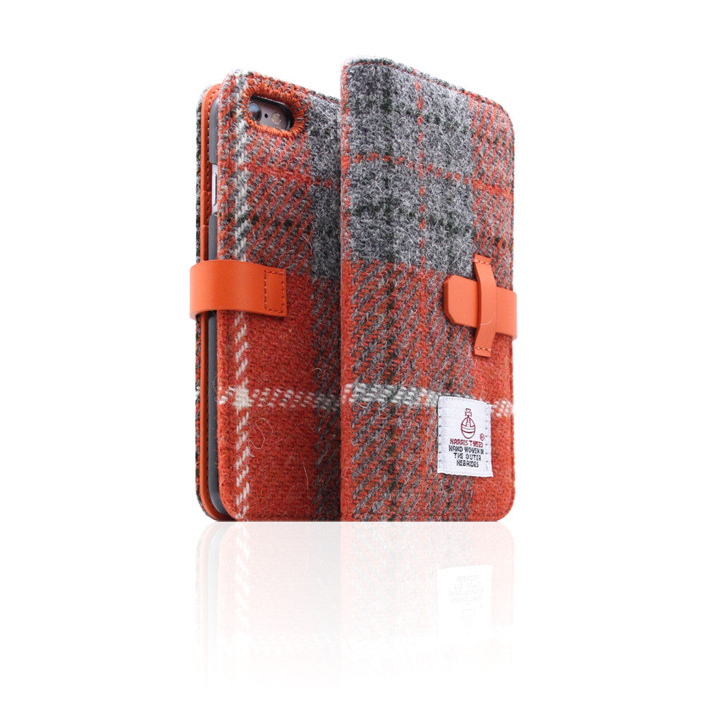 D5 Special Edition X Harris Tweed Case for iPhone 6/6s Plus G/Orange