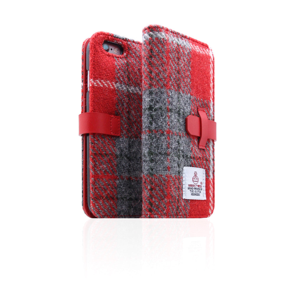D5 Special Edition X Harris Tweed Case for iPhone 6/6s Plus G/Red