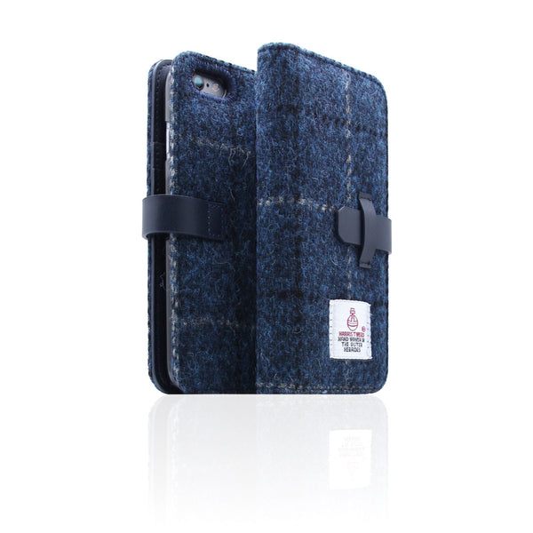 D5 Special Edition X Harris Tweed Case for iPhone 6/6s Plus Navy