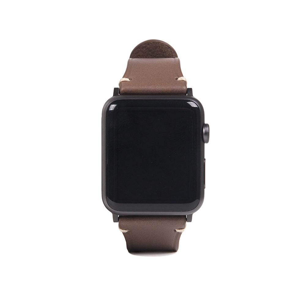 D7 Italian Buttero Leather Strap for Apple Watch 1to5 42/44mm Beige
