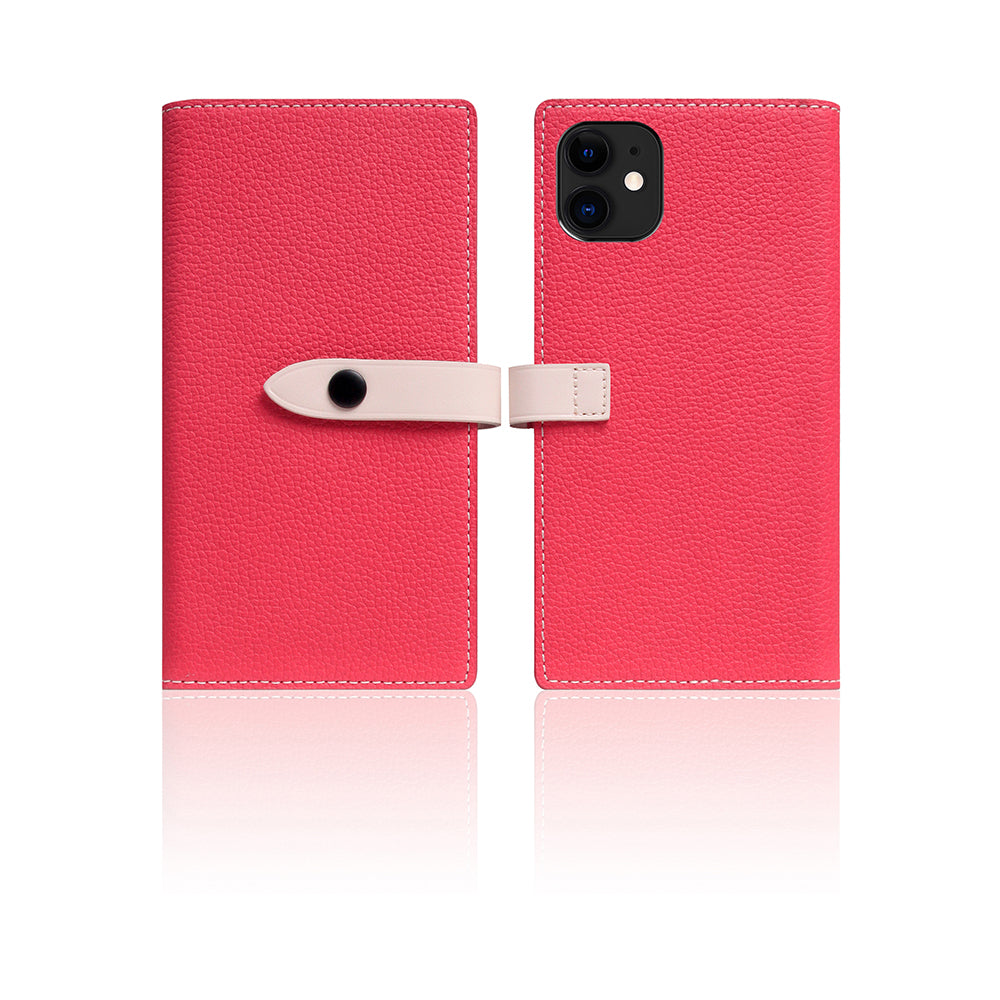 D8 Full Grain Leather Edition Case for iPhone 11 Pink Rose