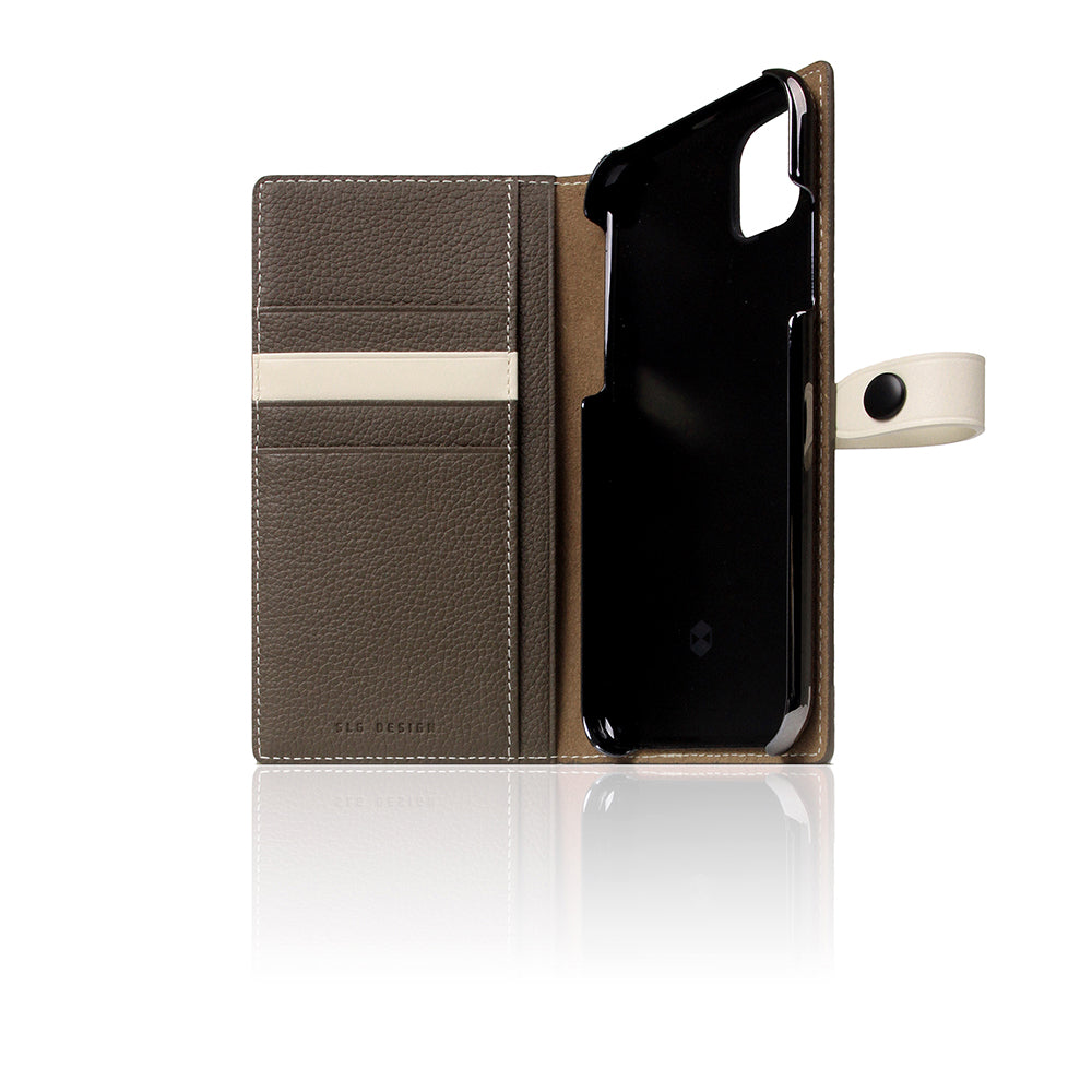 D8 Full Grain Leather Edition Case for iPhone 11 Etoffe Cream