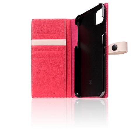 D8 Full Grain Leather Edition Case for iPhone 11 Pro Max Pink Rose